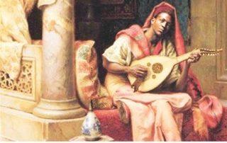 El músico Ziryab